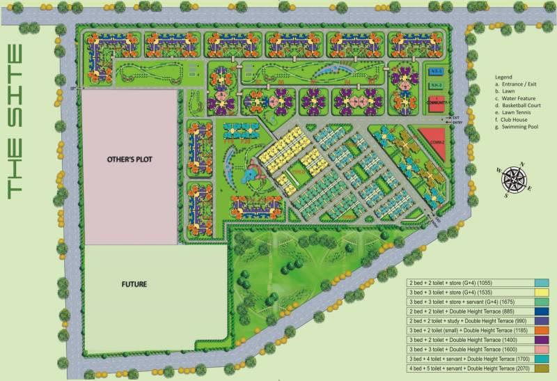 tropical-garden Images for Master Plan of Amrapali Tropical Garden