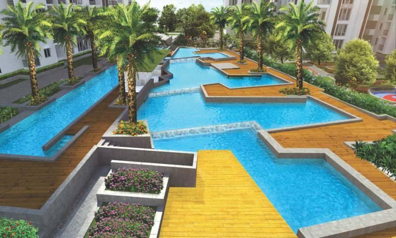 Image of swimming pool of snn raj etternia harlur - Swimming pool builders in bangalore ...