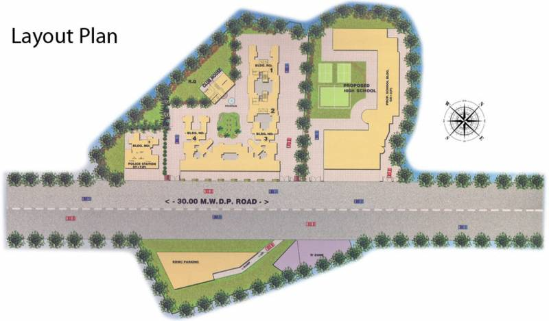 Images for Layout Plan of Mehta Amrut Heaven