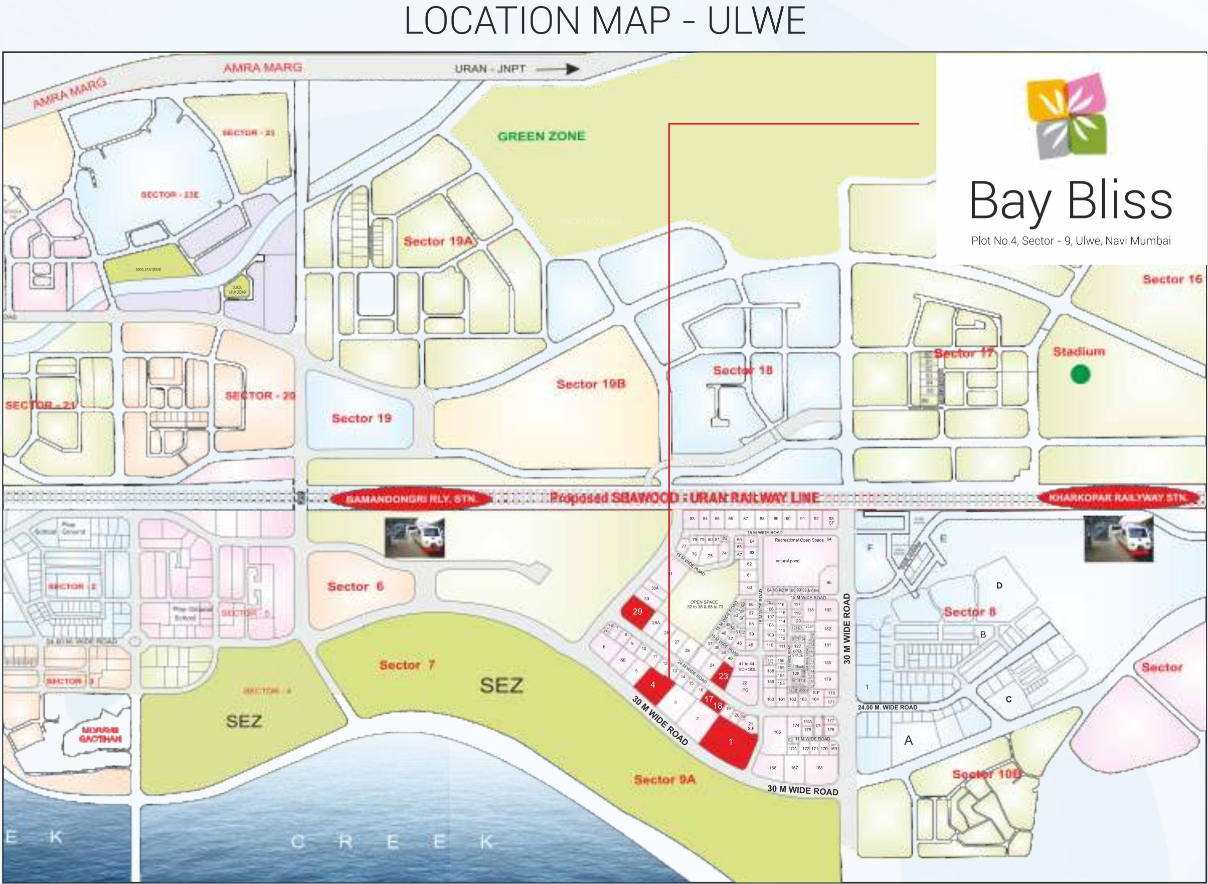 Bhagwati Bay Bliss In Ulwe Mumbai Price Location Map