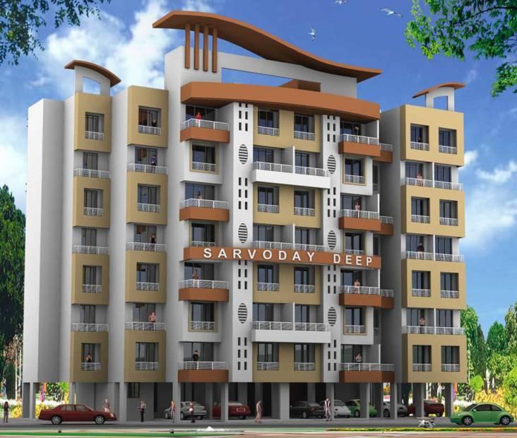 sarvodaya-deep Images for Elevation of Happy Home Group Mumbai Sarvodaya Deep