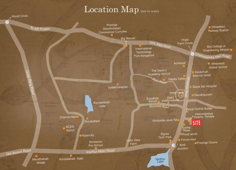 Images for Location Plan of Aakruthi Aura Springs