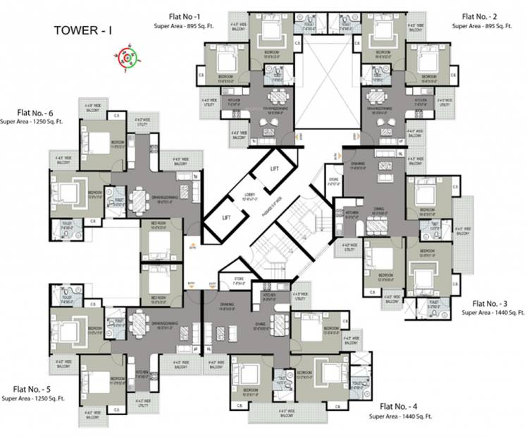 Images for Cluster Plan of Sethi Max Royal