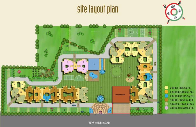 Images for Layout Plan of Sethi Max Royal