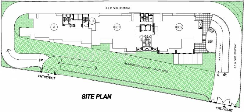Images for Site Plan of DLF Queens Court