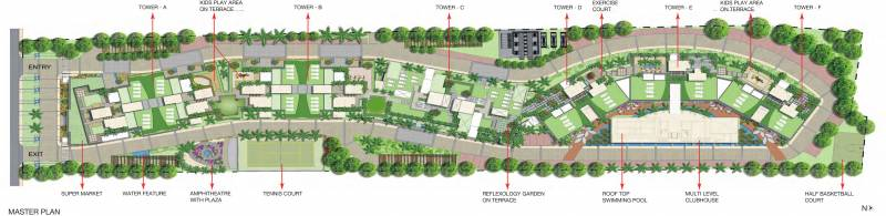 columbus-square Images for Master Plan of Nitesh Columbus Square