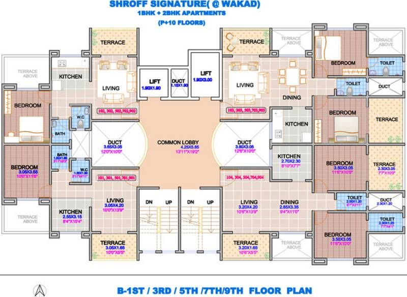 Images for Cluster Plan of Shroff Signature Heights