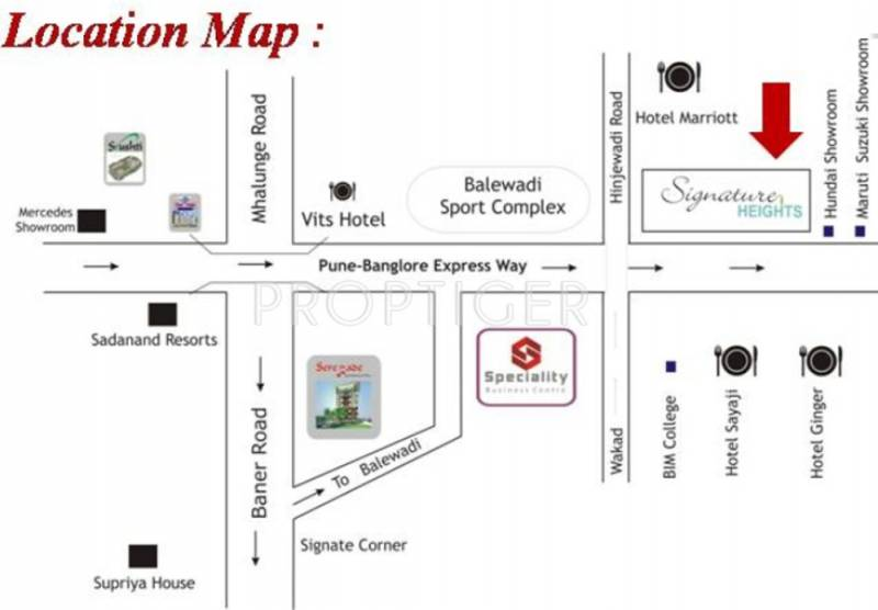 Images for Location Plan of Shroff Signature Heights