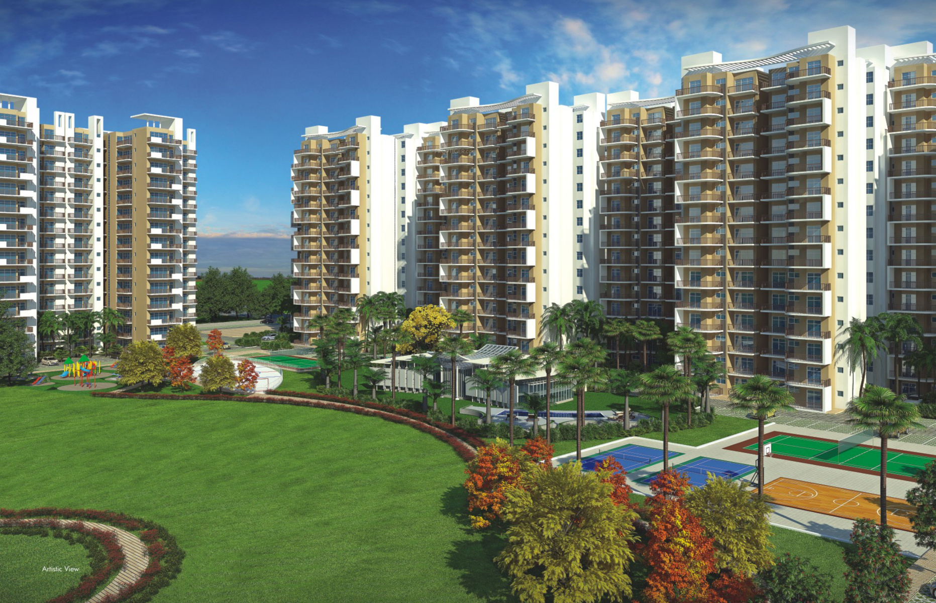 1650 sq ft 3 BHK 3T Apartment for Sale in Avalon Rosewood Sector