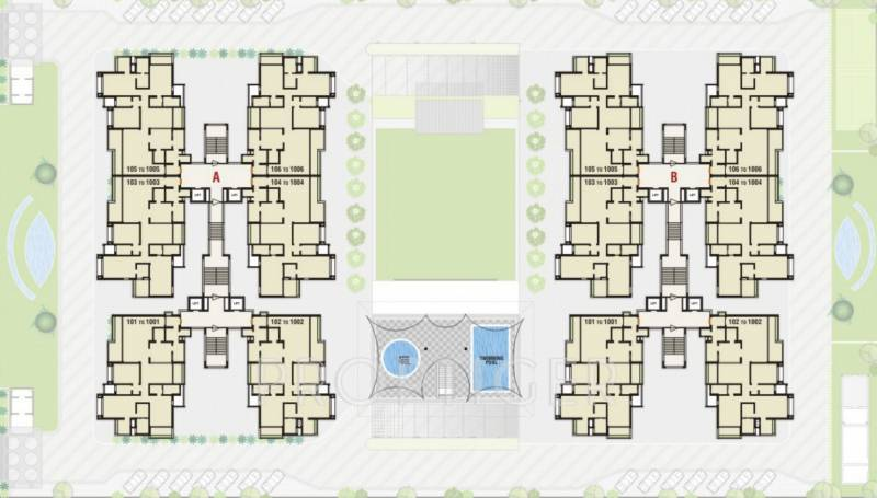3, 5 BHK Cluster Plan Image - Kamrup Housing Durva Greens for sale ...