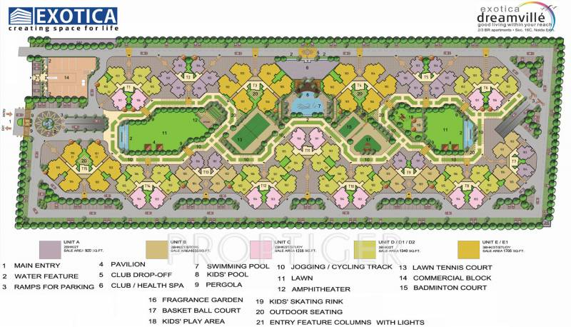 Images for Layout Plan of Exotica Dreamville