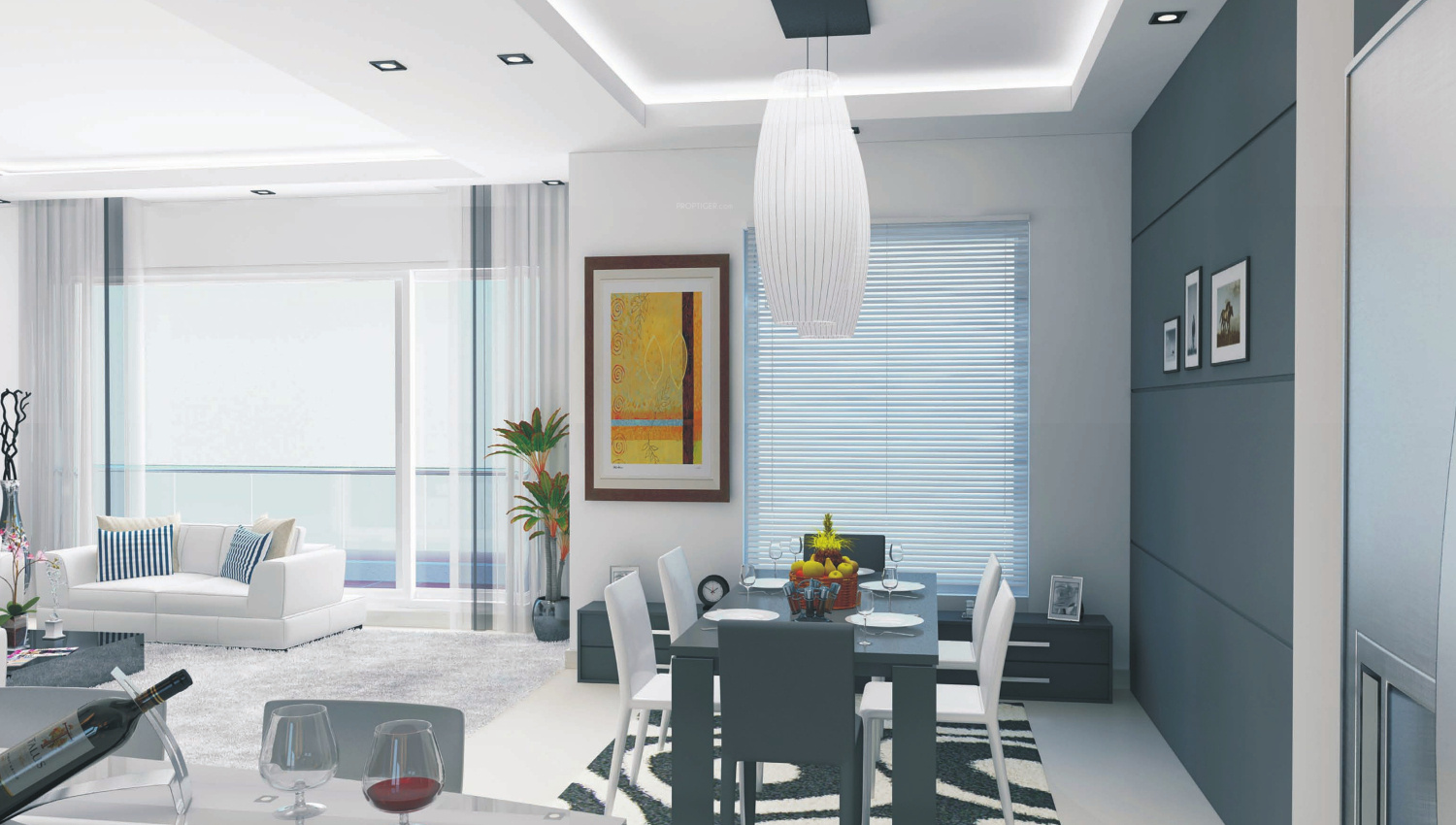 1480 sq ft 2 BHK 2T Apartment for Sale in Microtek Greenburg Sector ...