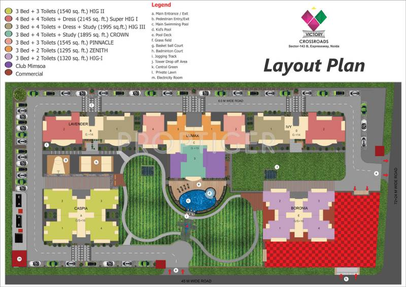 Images for Layout Plan of Victory Crossroads