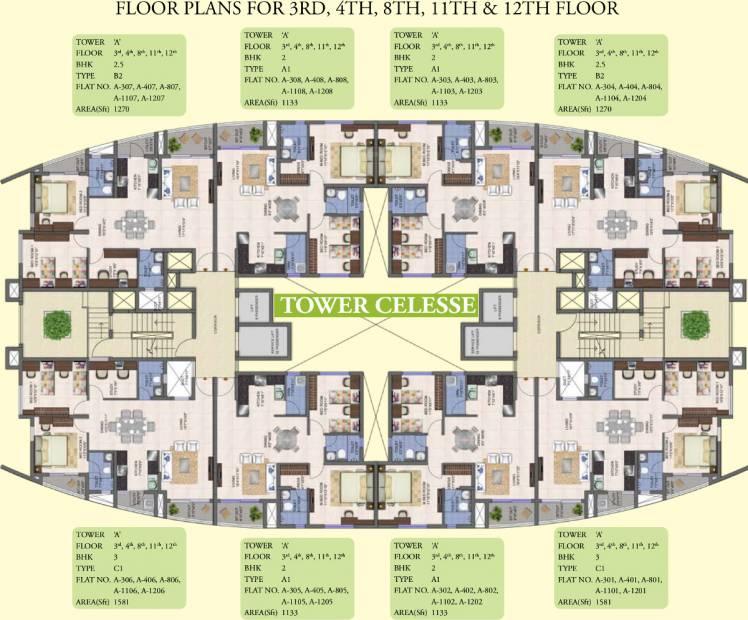 Images for Cluster Plan of Kolte Patil Mirabilis