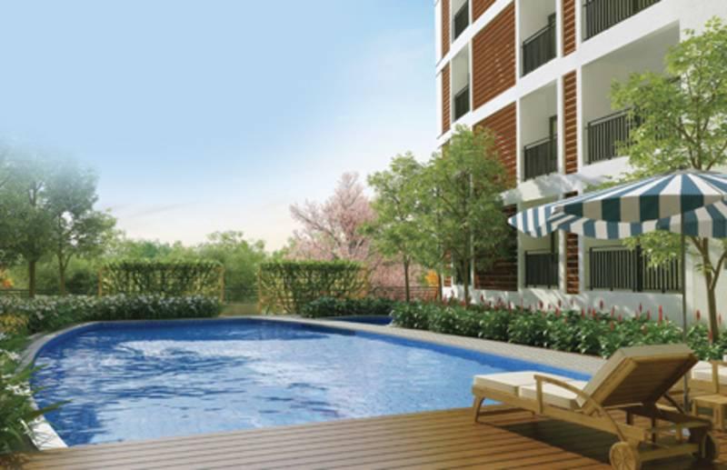 Image of swimming pool of kolte patil developers mirabilis - Swimming pool builders in bangalore ...