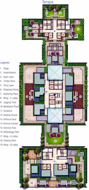 Images for Cluster Plan of Adani Estates Western Heights Phase 1 Residential