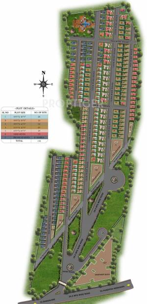 Images for Layout Plan of Excel Pebble Creek