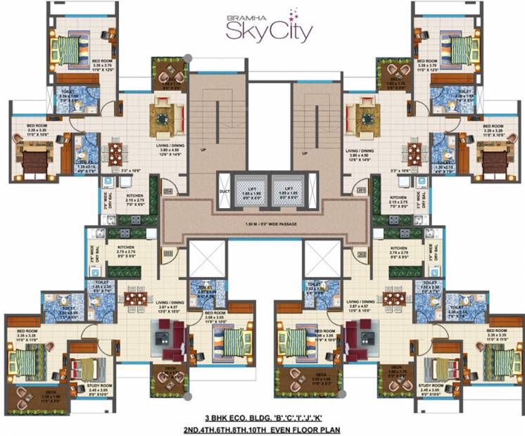 Images for Cluster Plan of Bramha Skycity