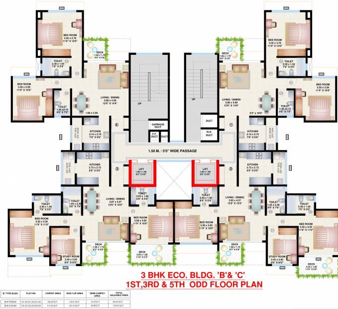 skycity Tower H Cluster Plan