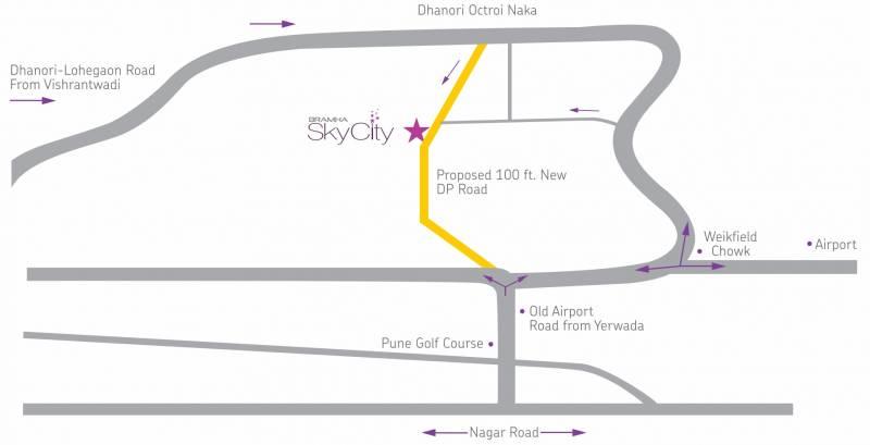 skycity Images for Location Plan of Bramha Skycity