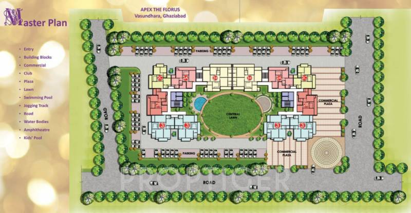 Images for Master Plan of Apex The Florus