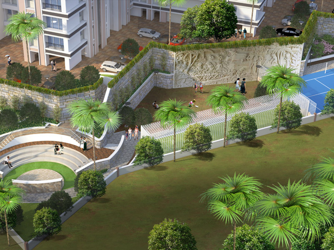 1210 Sq Ft 3 Bhk 3t Apartment For Sale In Velocity Hill Spring Thane West Mumbai