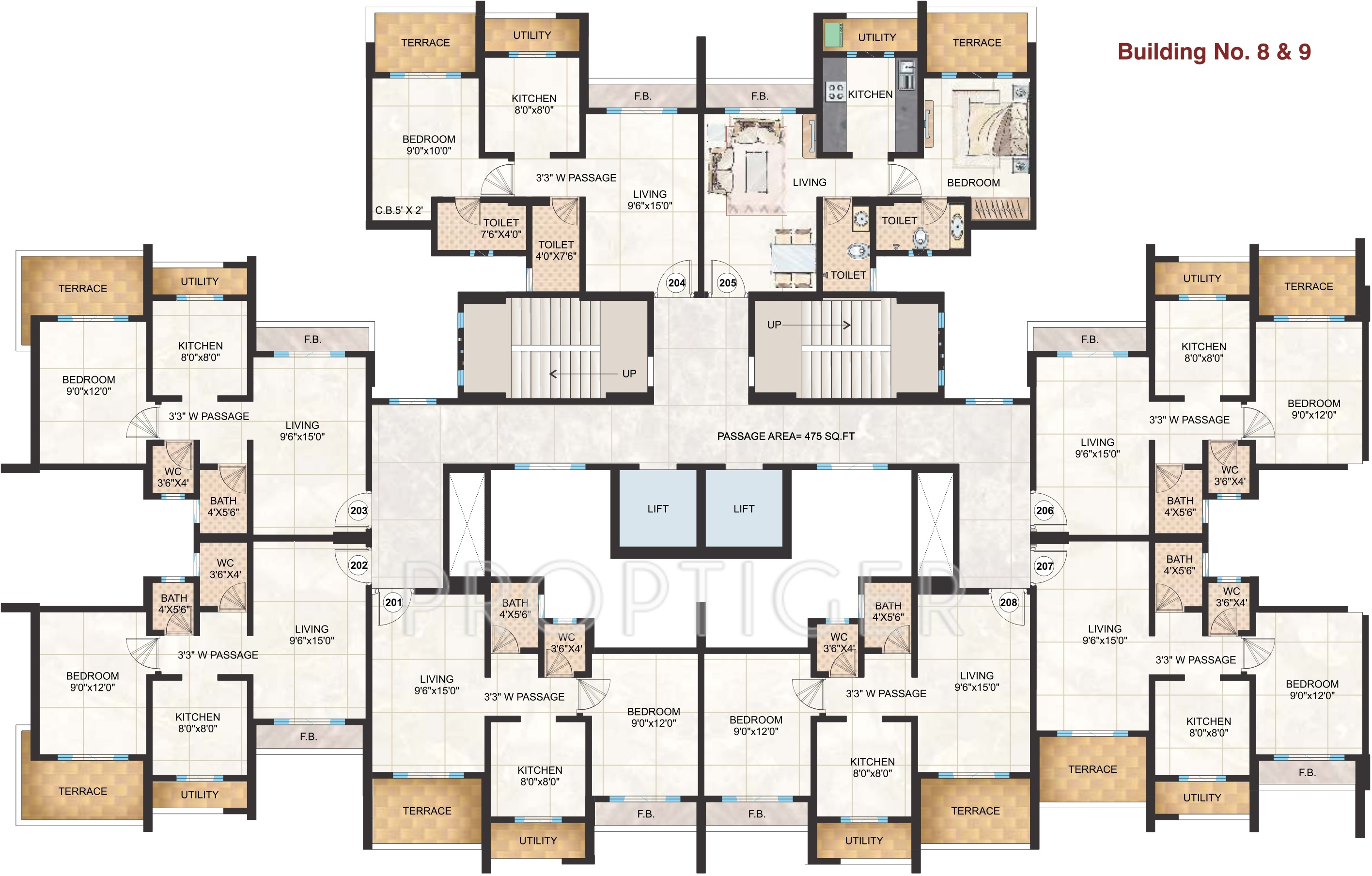 6 unit apartment building floor plans thefloors co for 6 unit apartment building plans