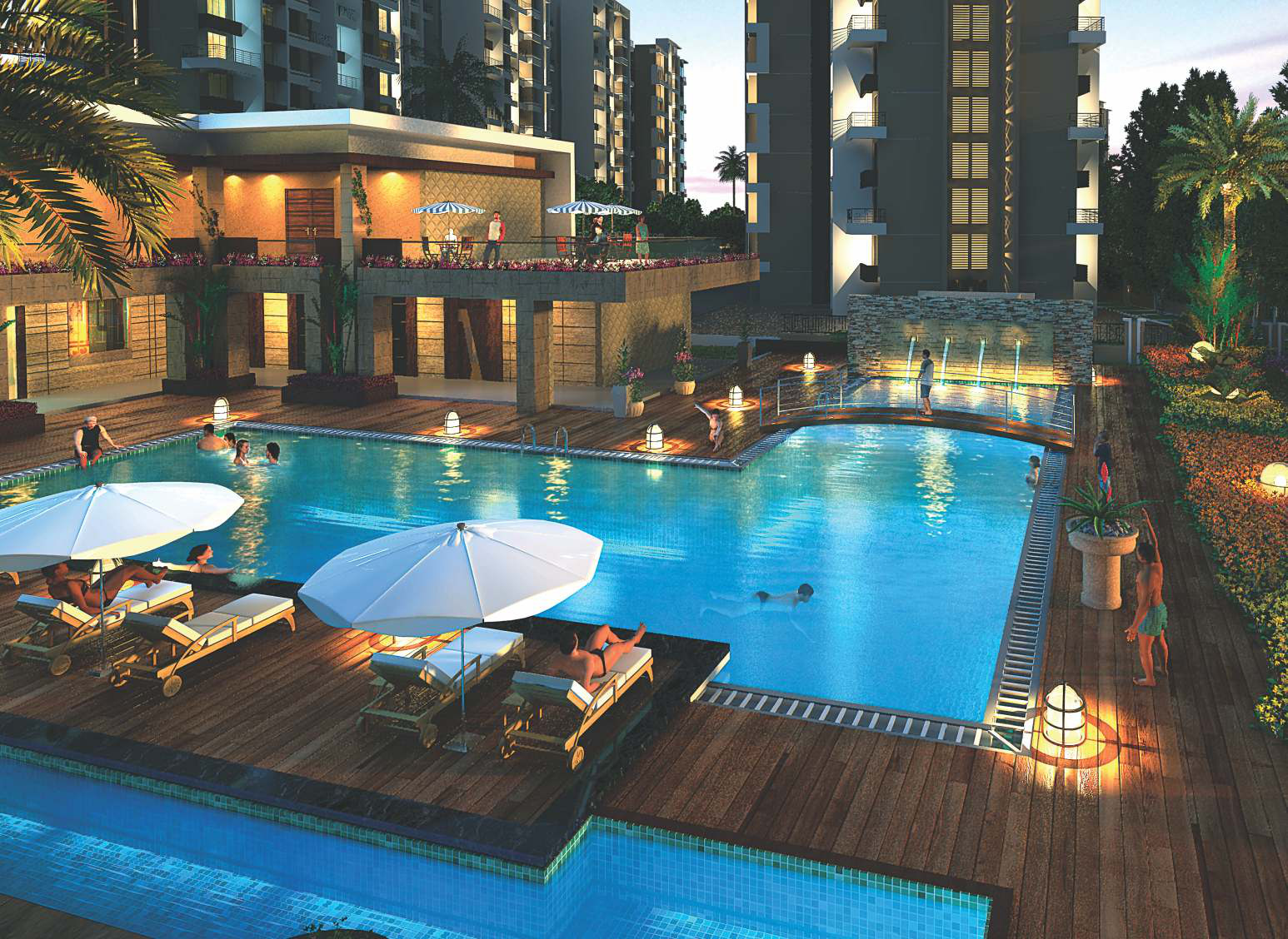 Regency sarvam in titwala mumbai price location map - Titwala farmhouse with swimming pool ...