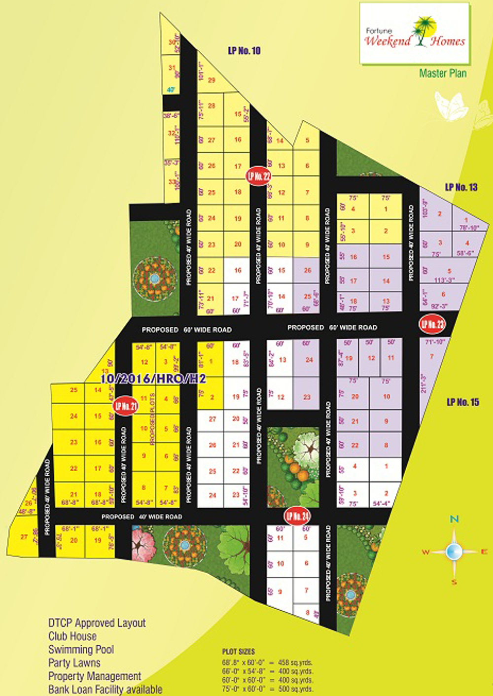 4644 sq ft plot for sale in fortune infra developers - Swimming pool loans interest rates ...