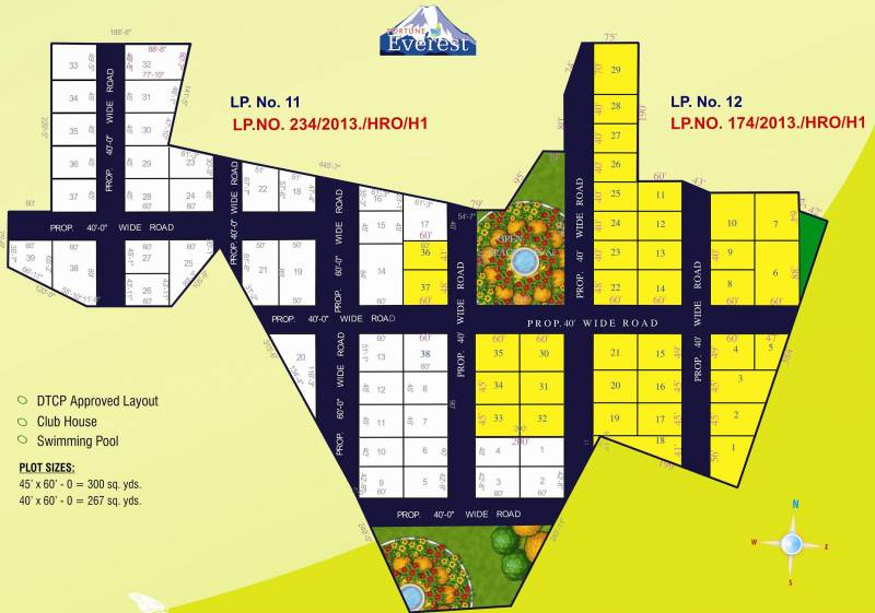 Images for Layout Plan of Fortune Everest
