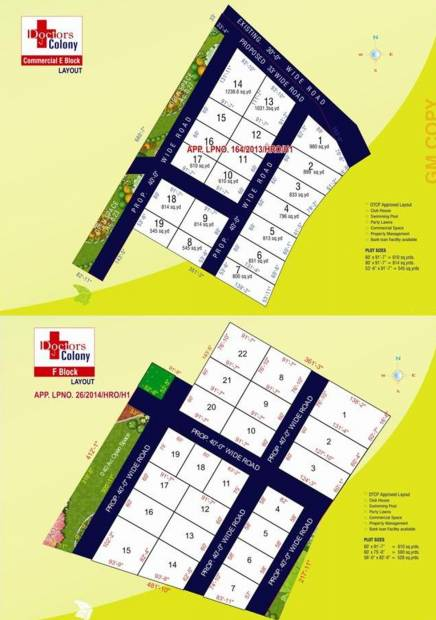 Images for Layout Plan of Fortune Infra Developers Doctors Colony