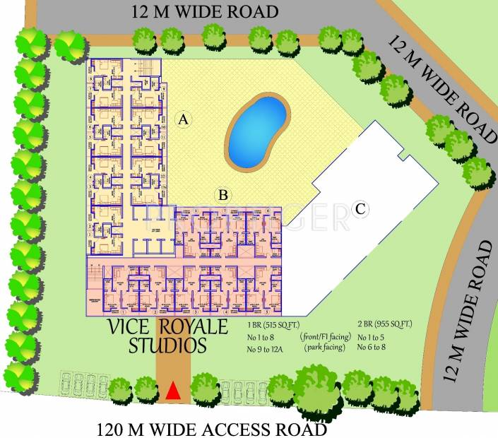 Images for Site Plan of Ajnara Vice Royale
