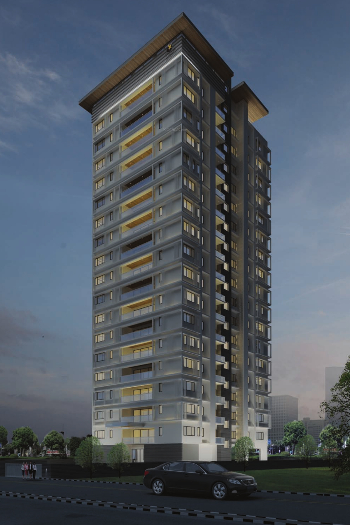 Prestige Spencer Heights In Frazer Town Bangalore Price