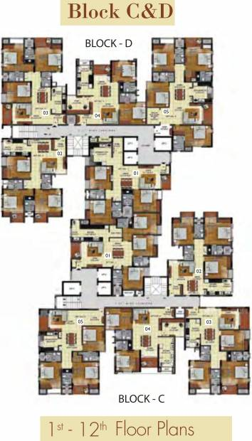 mandarin Images for Cluster Plan of Radiance Mandarin