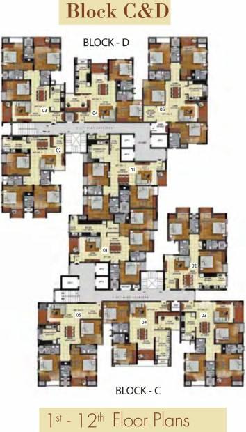 Images for Cluster Plan of Radiance Mandarin