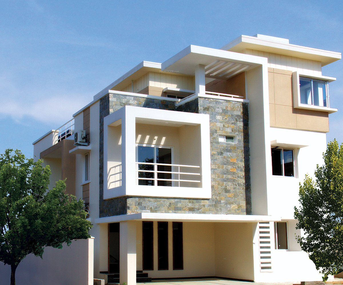 Front Elevation House Hyderabad : Sq ft bhk t villa for sale in manjeera purple town