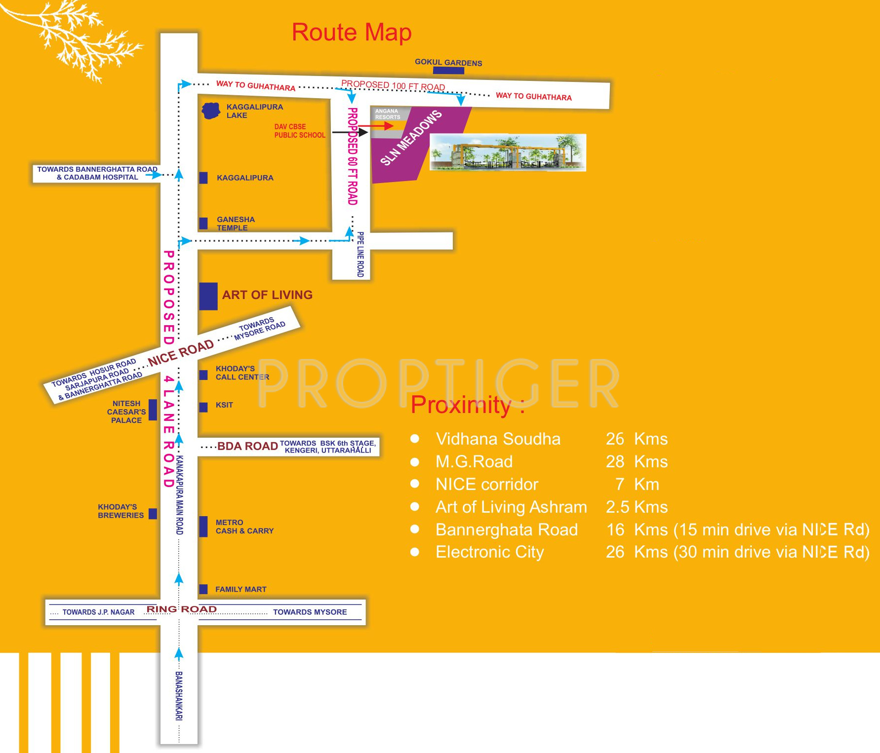 1200 sq ft Plot for Sale in Shree Durga Shelters SLN Meadows