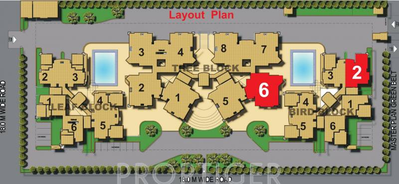 Images for Layout Plan of Samiah Singapore Residency