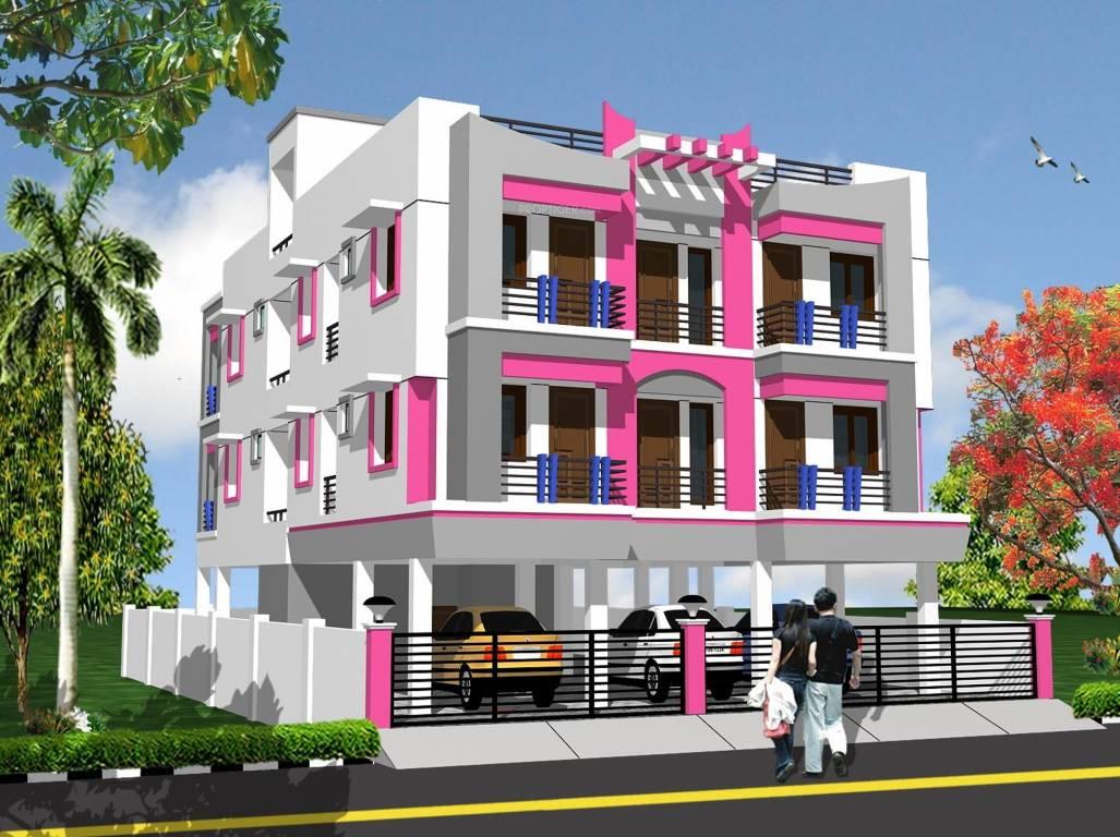 Yashva gangotri in sholinganallur chennai price for Classic house elevation