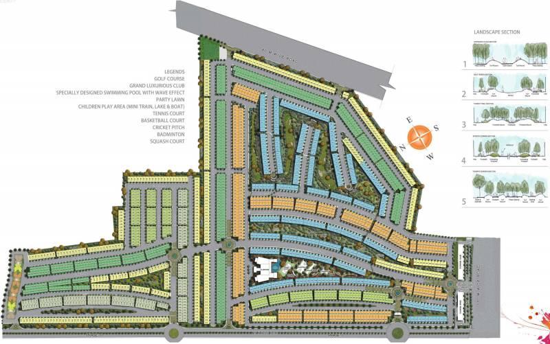 Images for Master Plan of Paramount Golfforeste Premium Apartments