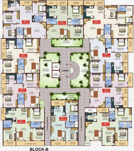 Images for Cluster Plan of Shivaganga Silverline
