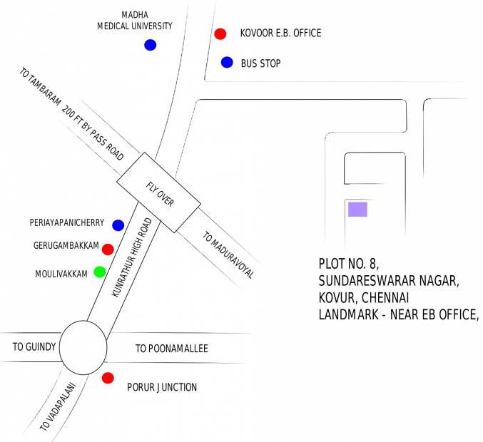 Images for Location Plan of Oyester Chandra Pushpanjali