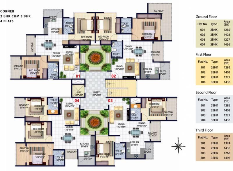 Images for Cluster Plan of Isha Misty Green