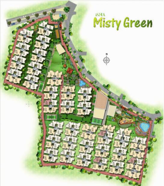 Images for Layout Plan of Isha Misty Green