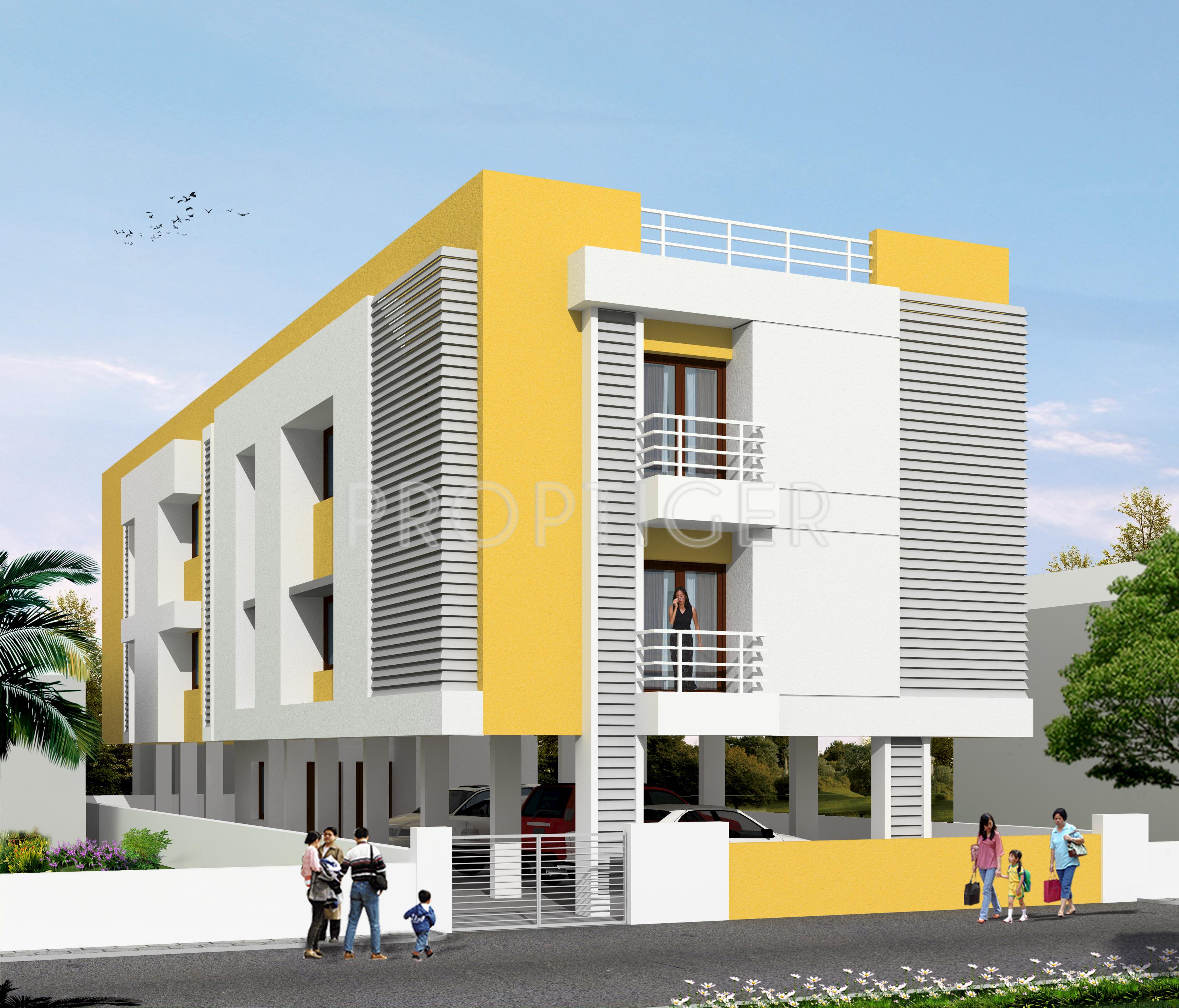 Where To Find An Apartment: Dev Apartment LIC Nagar In Madipakkam, Chennai