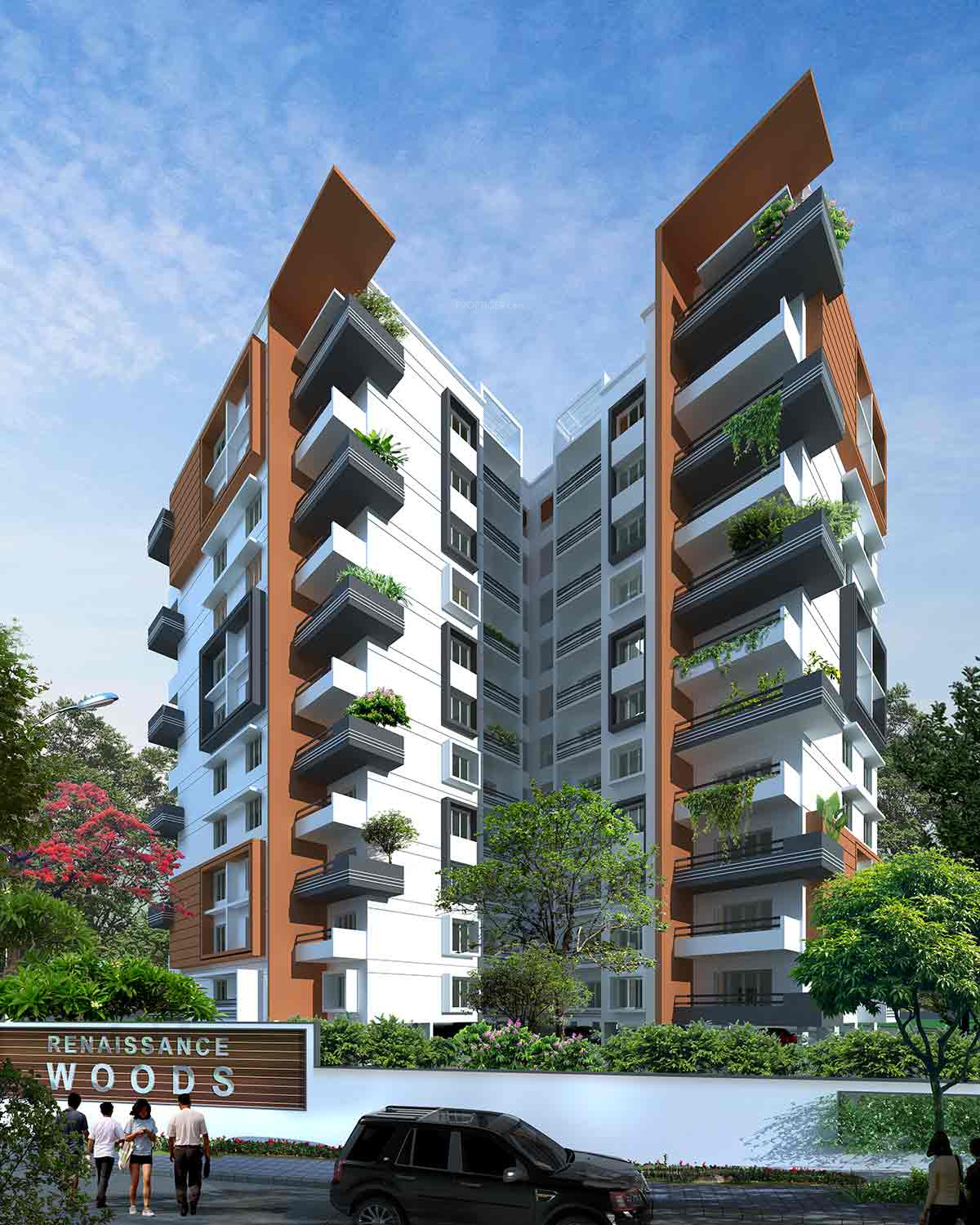 Wood Elevation Ymca : Renaissance woods in jalahalli bangalore price