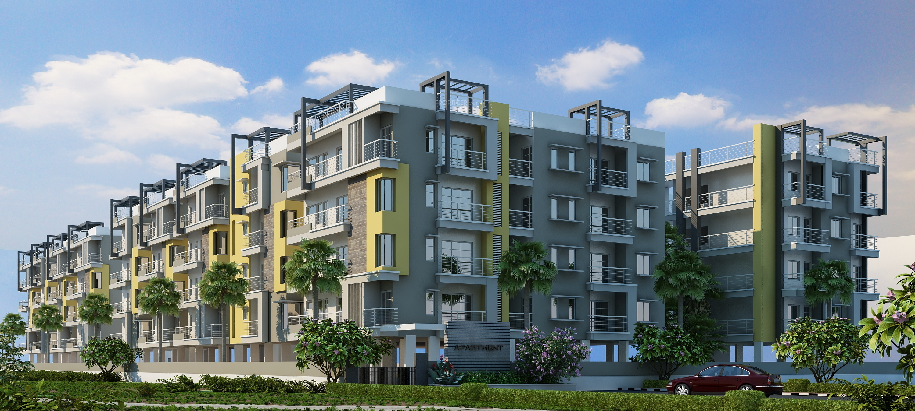 1360 Sq Ft 3 Bhk 2t Apartment For Sale In Dwarakamai Olive Apartments Itpl Bangalore