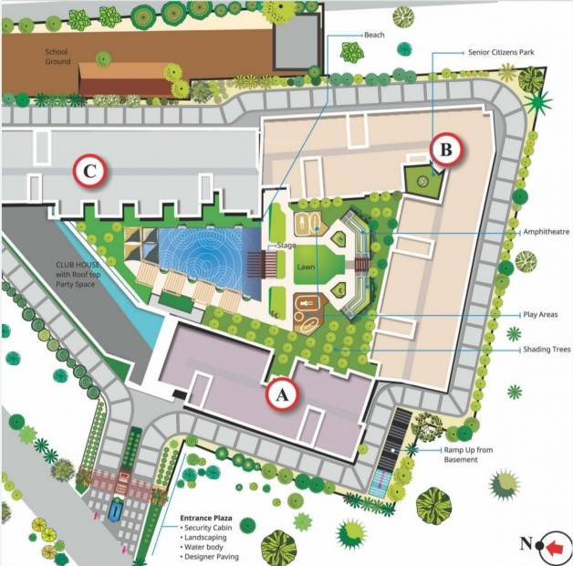 Images for Site Plan of Grand Grandeur park