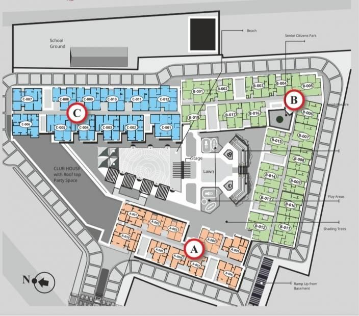 grandeur-park Layout Plan