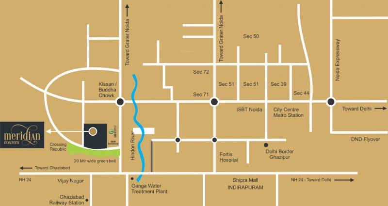 Images for Location Plan of VVIP Homes